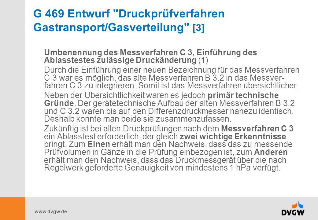G 469 Entwurf Druckprüfverfahren Gastransport/Gasverteilung [3]